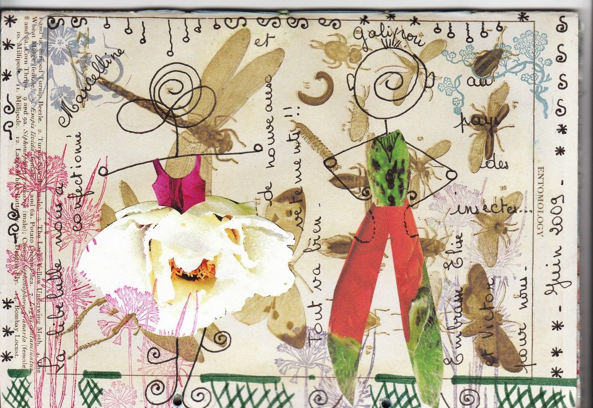 collage mail-art
